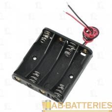 Батареечный отсек ET AA 4S1P-W с проводами