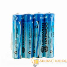 Батарейка Daewoo R03 AAA Shrink 4 Heavy Duty 1.5V (4/40/960)