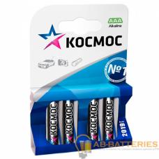 Батарейка Космос R03 AAA BL4 Zinc Carbon 1.5V (4/60/960)