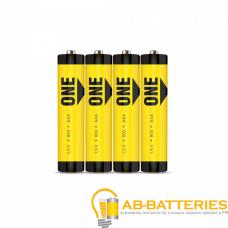 Батарейка Smartbuy ONE ECO R03 AAA Shrink 4 Heavy Duty 1.5V (4/60/600)