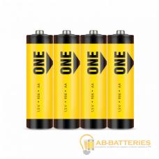 Батарейка Smartbuy ONE ECO R6 AA Shrink 4 Heavy Duty 1.5V (4/60/600)