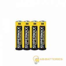 Батарейка Supermax Super R03 AAA Shrink 2 Heavy Duty 1.5V (2/60/600)