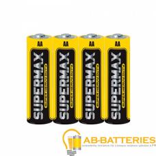 Батарейка Supermax Super R6 AA Shrink 4 Heavy Duty 1.5V (4/60/600)