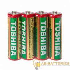 Батарейка Toshiba R6 AA Shrink 4 Heavy Duty 1.5V (4/40/200/1000)