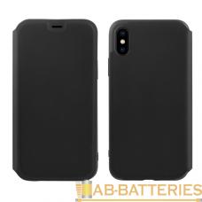 Чехол HOCO Colorful series liquid silicone case for iPhone XS Max Черный