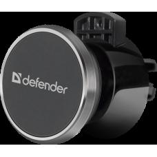 Держатель автомобильный Defender CH-128 в воздуховод магнит черный (1/100)