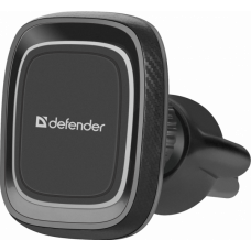 Держатель автомобильный Defender CH-129 в воздуховод магнит черный (1/115)