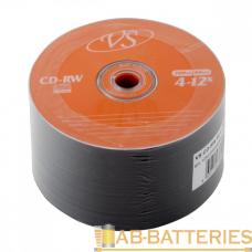Диск CD-RW VS 700MB 4-12x 50шт. bulk (50/600)