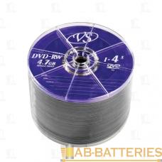 Диск DVD+RW VS 4.7GB 4x 50шт. bulk (50/600)