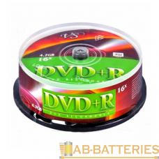 Диск DVD-R VS 4.7GB 16x 25шт. cake box (25/250)