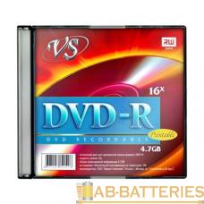 Диск DVD-R VS 4.7GB 16x 5шт. SlimCase (5/200)