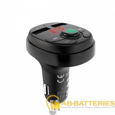 FM-трансмиттер Borofone BC26 2USB microSD bluetooth 4.2 черный (1/30/120)
