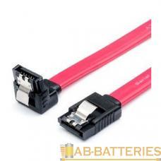 Кабель Atcom AT0108 SATA (m)-SATA (m) 0.5м силикон угловой розовый (1/10/1000)