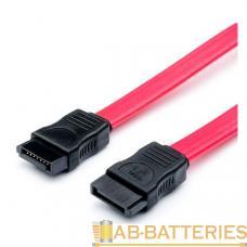 Кабель Atcom AT3797 SATA (m)-SATA (m) 0.5м силикон красный (1/10/1000)