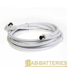 Кабель Smartbuy K-TV111 TV (m)-TV (m) 1.8м силикон серый (1/150)