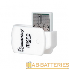 Картридер Smartbuy 706 USB2.0 microSD голубой (1/20)
