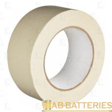 Клейкая лента Без бренда 48мм*10м двусторонняя полипропилен белый (1/36)