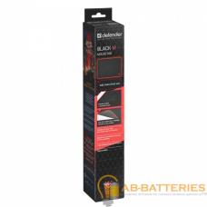 Коврик для мыши Defender Black M 360x270x3мм черный (1/40)