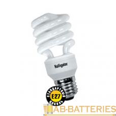 Лампа люминесцентная Navigator SF10 E14 11W 2700К 220-240V спираль (1/12/108)