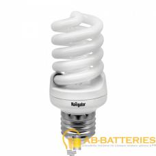 Лампа люминесцентная Navigator SF10 E27 30W 2700К 220-240V спираль (1/12/108)