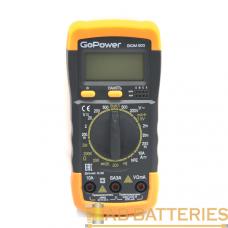 Мультиметр GoPower DigiM 500 (1/60)