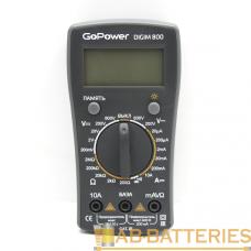 Мультиметр GoPower DigiM 800 (1/80)