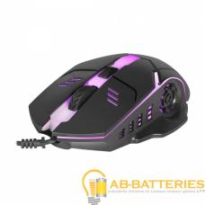 Мышь проводная Defender MB-470 Ultra Matt классическая USB черный (1/40)