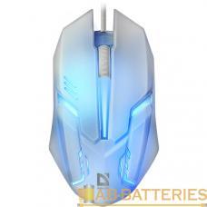 Мышь проводная Defender MB-560L Cyber классическая USB белый (1/40)