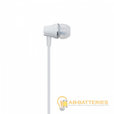 Наушники внутриканальные Borofone BM21 с микрофоном белый (1/36/144)
