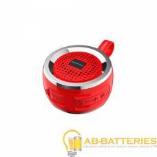 Портативная колонка Borofone BR2 bluetooth 5.0 с микрофоном красный (1/80)