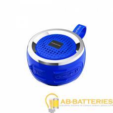Портативная колонка Borofone BR2 bluetooth 5.0 с микрофоном синий (1/80)