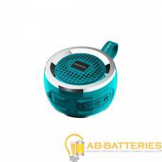 Портативная колонка Borofone BR2 bluetooth 5.0 с микрофоном зеленый (1/80)