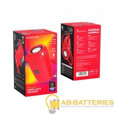Портативная колонка Borofone BR4 bluetooth 5.0 microSD с микрофоном красный (1/50)