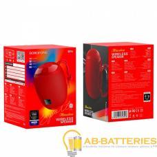 Портативная колонка Borofone BR6 bluetooth 5.0 microSD с микрофоном красный (1/60)