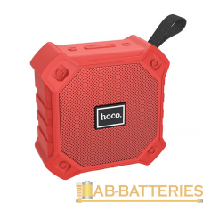 Портативная колонка HOCO BS34 bluetooth 5.0 microSD с микрофоном красный (1/40)