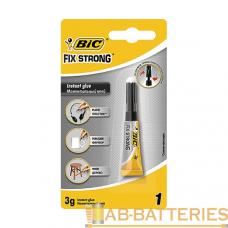 Супер-клей BIC 3г универсальный BL1 (1/24)