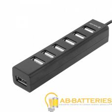 USB-Хаб Defender Quadro Swift 7USB черный (1/100)