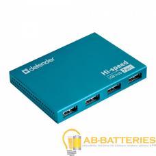 USB-Хаб Defender Septima Slim 7USB синий (1/100)