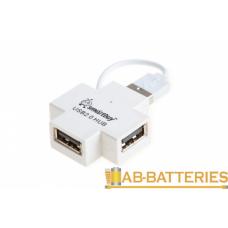 USB-Хаб Smartbuy 6900 4USB белый