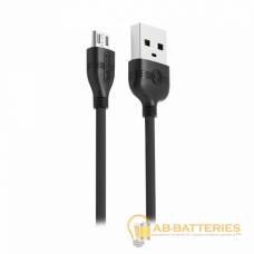 USB кабель PRODA NORMEE MICRO 1.2М PD-B05m Черный