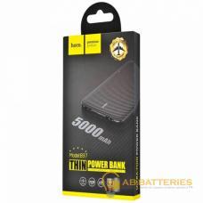 Внешний аккумулятор HOCO B37 5000mAh 1.0A 2USB черный (1/84)