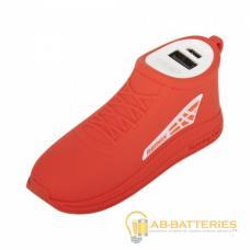 Внешний аккумулятор Remax RPL-57 Running Shoe 2500mAh 1.0A 1USB красный (1/60)