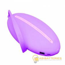 Внешний аккумулятор Remax RPP-60 XII 10000mAh 1.5A 1USB фиолетовый (1/6/24)