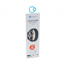 Монобраслет для Apple Watch COTEetCI W58 Liquid Silicone Band 38/40 мм (150) (зеленый)