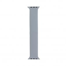 Монобраслет для Apple Watch COTEetCI W58 Liquid Silicone Band 38/40 мм (150) (серый)