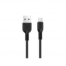 Кабель USB - micro USB HOCO X20 (3м.) черный