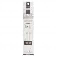USB кабель REMAX Breathe Series Cable RC-029i Apple Lightning 8-pin (белый)