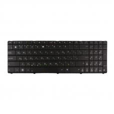 Клавиатура для Asus N73,N53 (без рамки, чёрная)