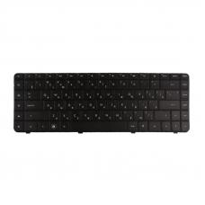 Клавиатура для HP Pavilion CQ62 G62 CQ56 G56(без рамки, чёрная)