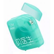 Зубная нить Xiaomi DR.BEI Dental Floss (3 шт. по 50 м) (mint)